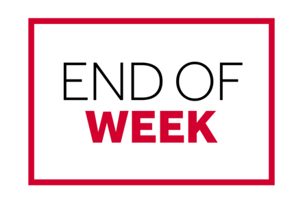 Text: End of Week