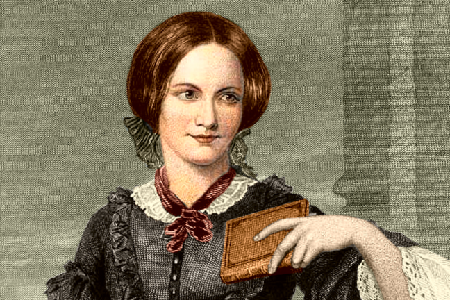 Portrait of English author Charlotte Brontë by Evert A. Duyckinck, based on a drawing by George Richmond