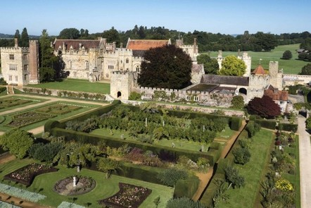 Image of Penshurst Place and formal gardens