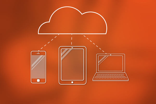 Image of a device cloud