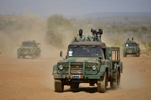 EU Forces Train Malian Soldiers In Fight Against Rebels.