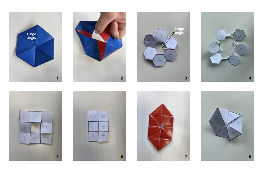 Flexagons as polygon rings