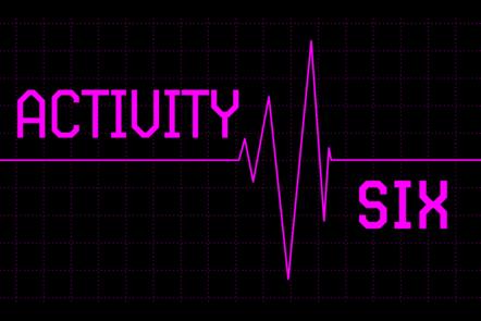 Text: Activity six