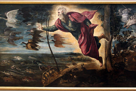 Tintoretto, The Creation of the Animals