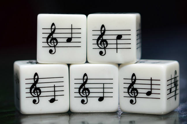Musical dice