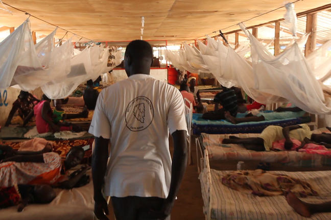 VL treatment centre in South Sudan
