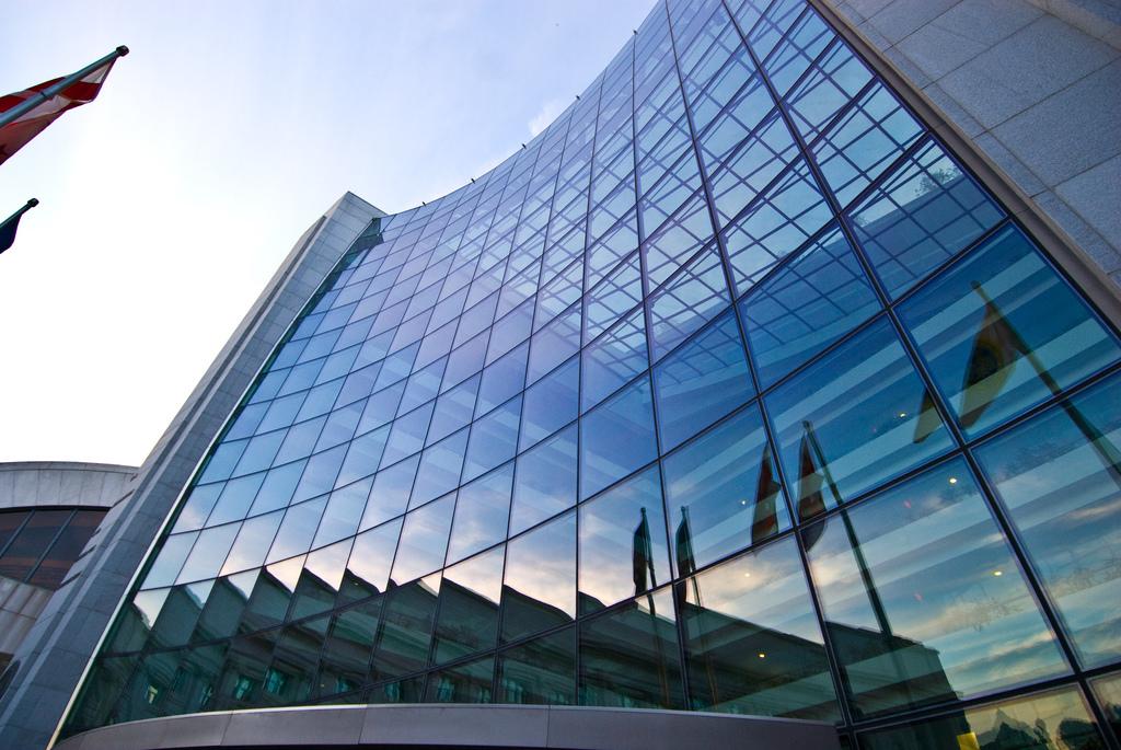 Exterior of Securities Exchange building