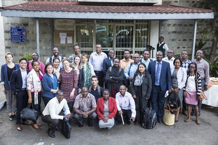 Participants at a FIND diagnostics workshop in Ethiopia