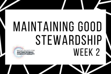 Maintaining good stewardship - week 2