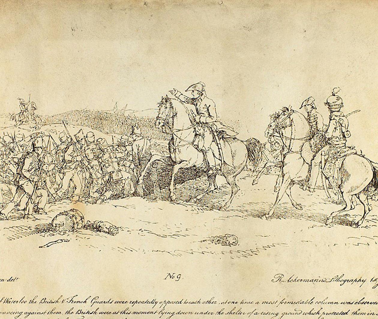 Wellington and the Battle of Waterloo