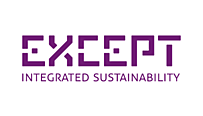 Except Integrated Sustainability logo