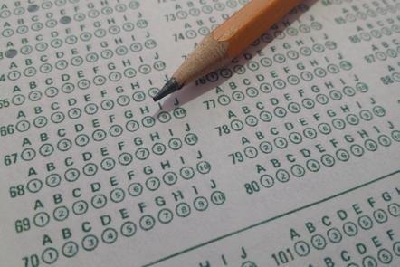 Test score sheet (©Shutterstock)