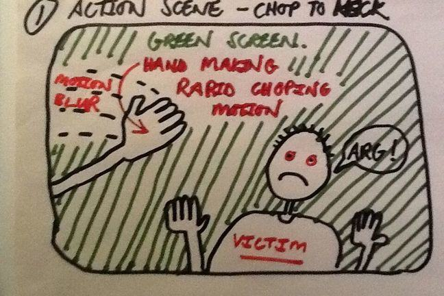 Storyboards are only one way to communicate. Lets look at some VFX definitions.