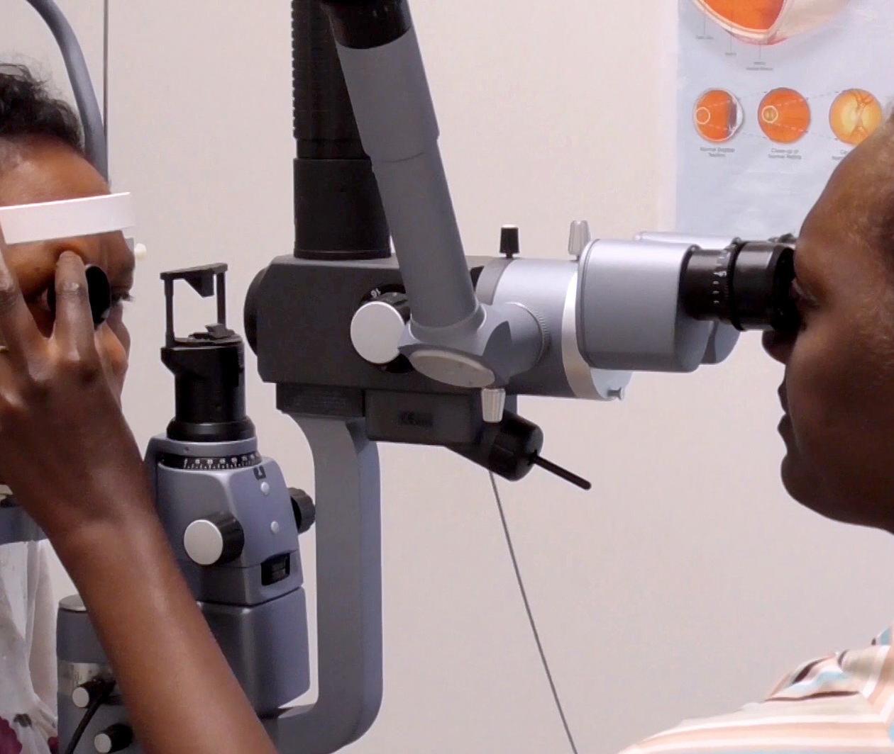 Diabetic Eye Disease: Strengthening Services