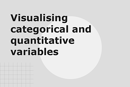 PFP01-Title card-Visualising categorical and quantitative variables