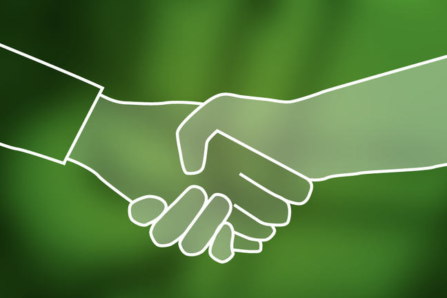 Shake hands and meet the academics and educators