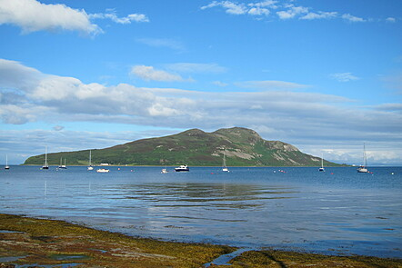 Lamlash Bay on the Isle of Arran, the site of Scotland's first marine reserve