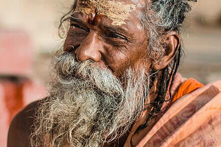 Picture of an elderly believer