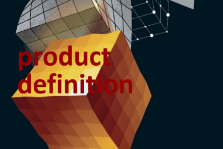 "Part of Scale-up Manual front cover image with the word ""product definition""."