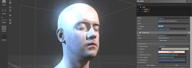 3D graphics using WebGLStudio