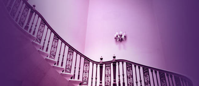 Photograph of stairs inside the Foreign & Commonwealth Office