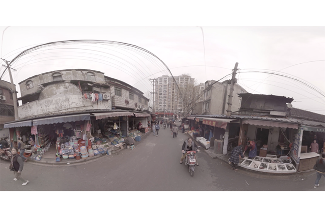 360-degree video of Dinghaiqiao