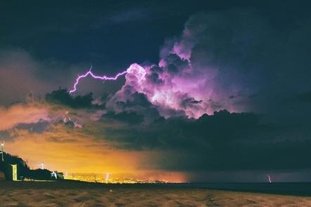 Thunder over Catania