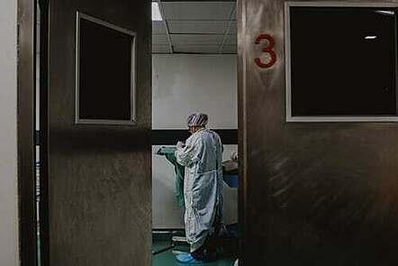 hospital worker