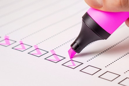Checklist image by TeroVesalainen on Pixabay https://pixabay.com/images/id-2077020/
