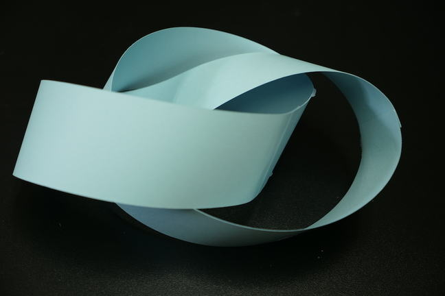 Paper trefoil knot