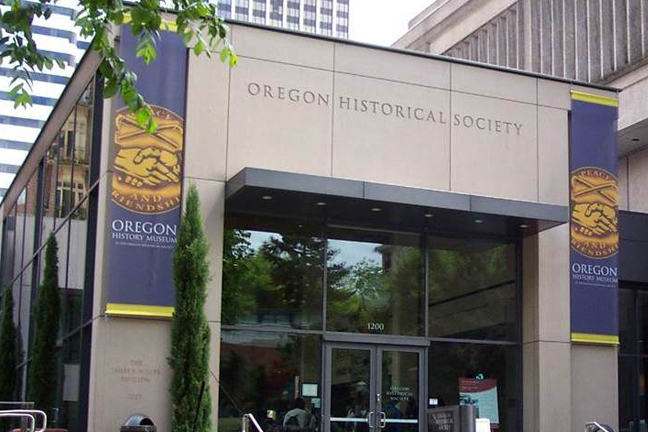 Oregon Historical Society building