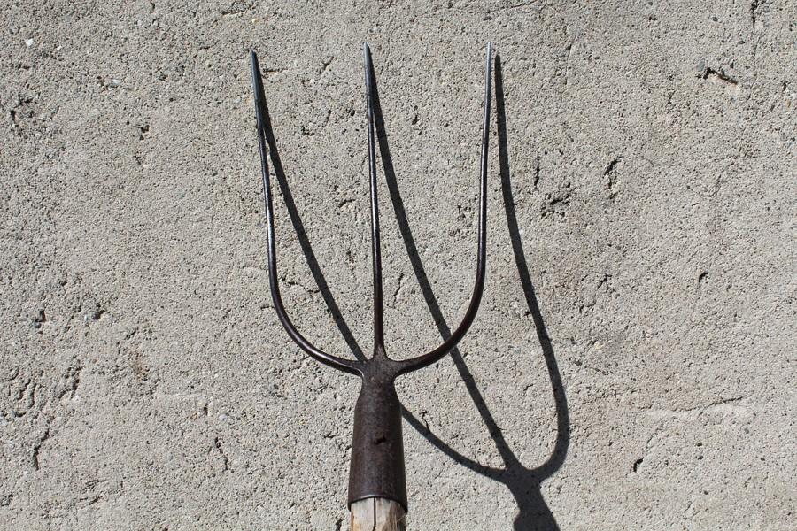 A pitchfork