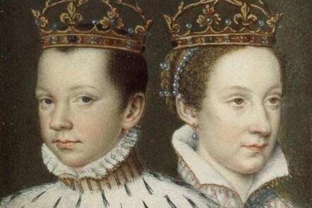 Portrait of Francis II and Mary Stuart