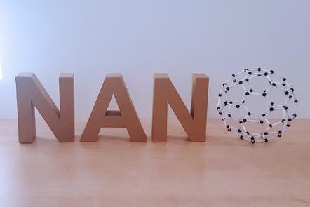 NANO letters, where the O is a bucky ball