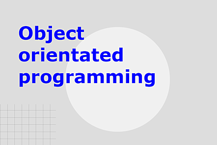 PFP01-Title card-Object orientated programming