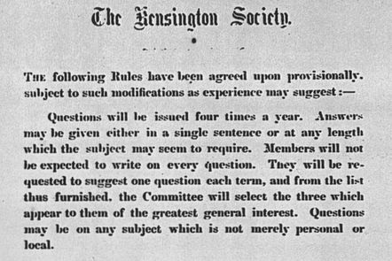 Kensington Society rules