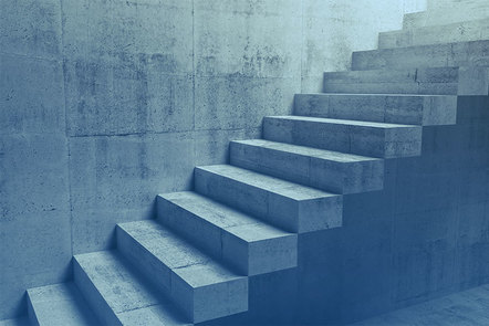 Stone staircase leading up