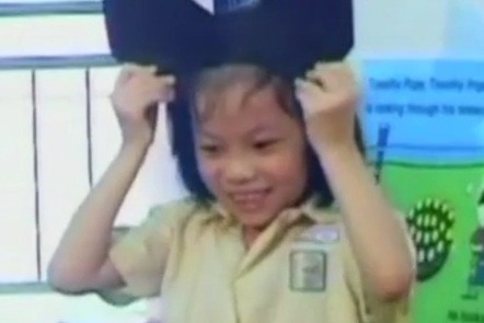 An Indonesian pupil
