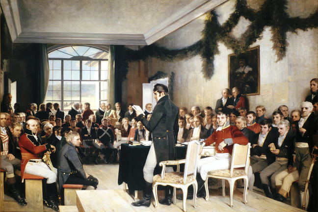 Constitution Eidsvoll 1814
