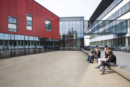 Students at the University of Twente