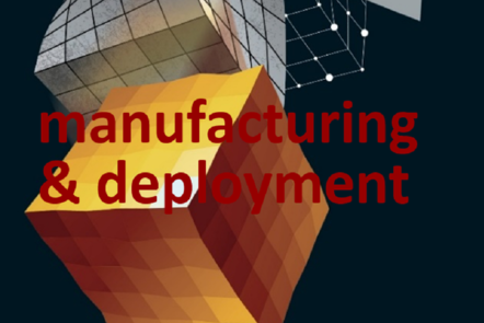 "Part of Scale-up Manual front cover image with the word ""manufacturing & deployment""."