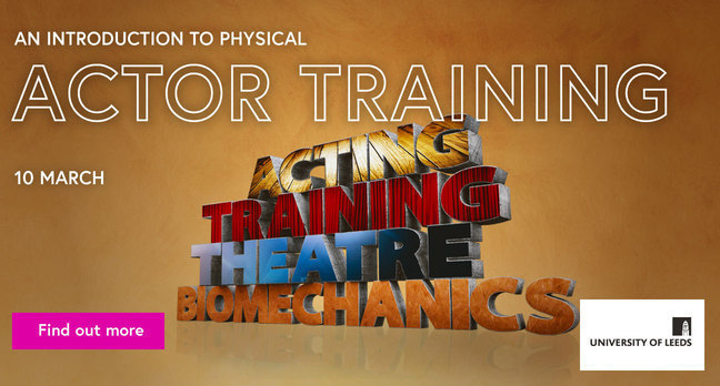 View 'An introduction to physical actor training'