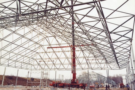More construction at RAF Hendon in the museum era.