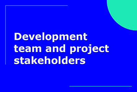 Development team and sprint planning