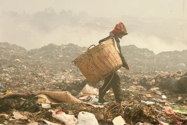 Mass rubbish