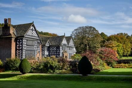Speke Hall, Liverpool - a Tudor timber-framed manor house