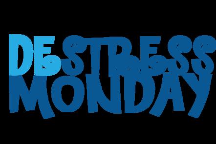 DeStress Monday logo