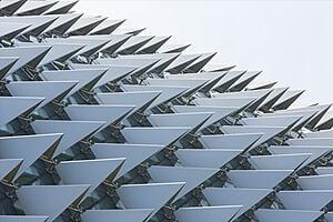 Modern roof design