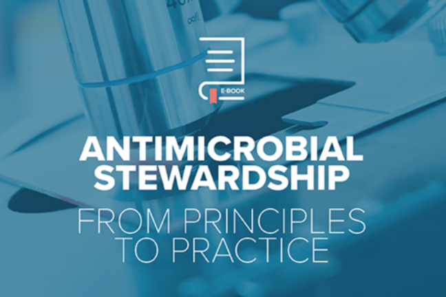 BSAC eBook cover - Antimicrobial stewardship from principles to practice
