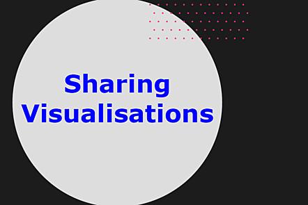 Sharing visualisations